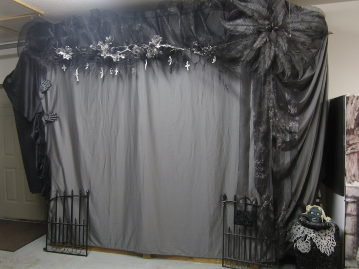 Halloween backdrop