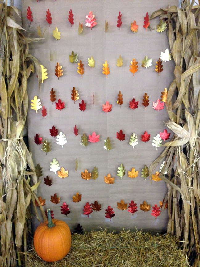 fabulous fall photo booth