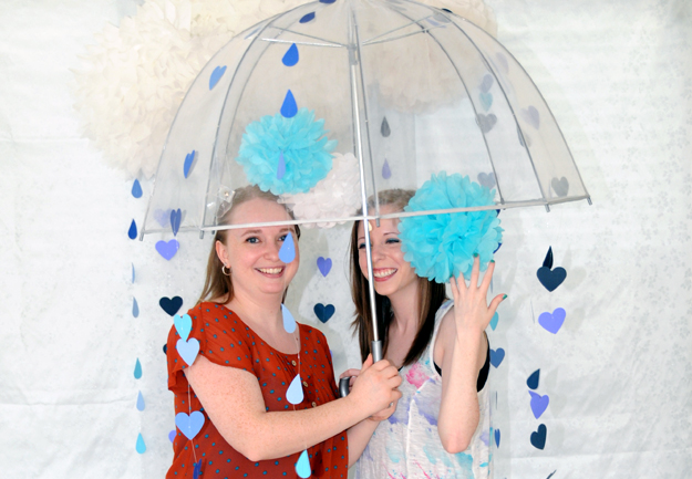 April Showers Photo Booth