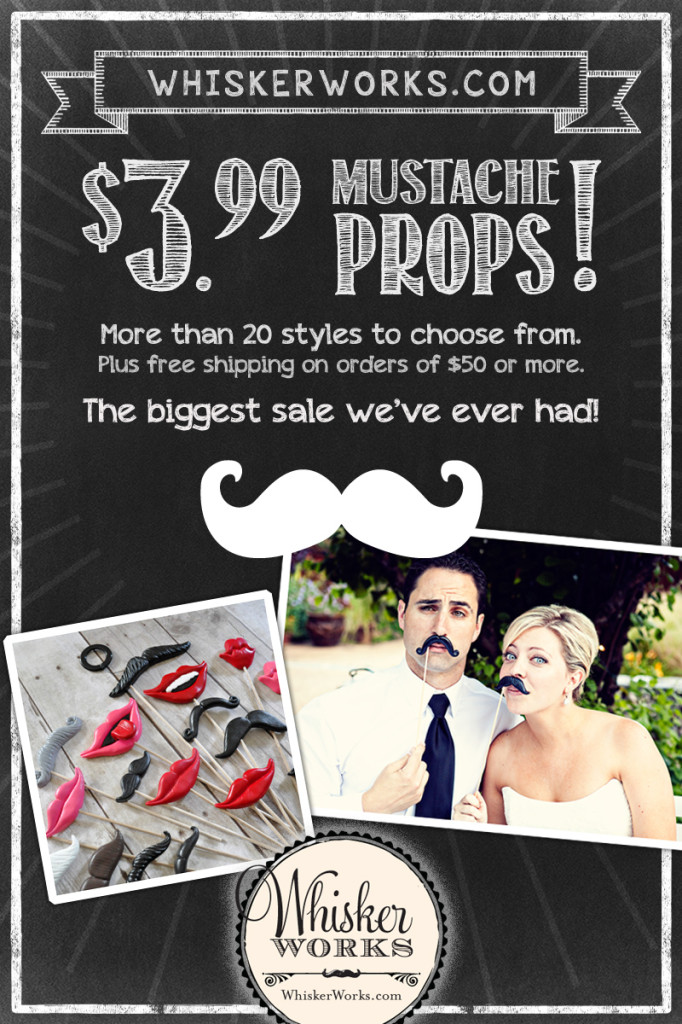 Photo booth props on sale